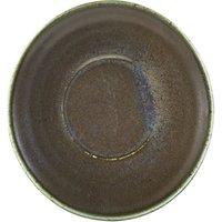 Terra Porcelain Saucer Black 5.7inch / 14.5cm (Case of 24) - Drinkstuff Gifts