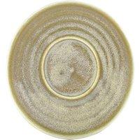 Terra Porcelain Saucer Matt Grey 4.5inch / 11.5cm (Case of 72) - Drinkstuff Gifts