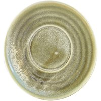 Terra Porcelain Saucer Matt Grey 5.7inch / 14.5cm (Case of 24) - Drinkstuff Gifts