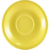 Royal Genware Saucer Yellow 6.25inch / 16cm (Pack of 6)