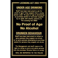 Pub Laws Sign - Pub Gifts