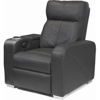 Premiere Home Cinema Seating (1 Seater Black Leather) - Film Gifts