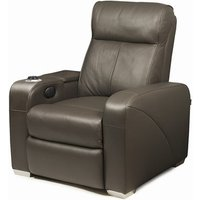 Premiere Home Cinema Seating (1 Seater Brown Leather) - Film Gifts