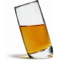 Ludico Tilted Shot Glasses 2.1oz / 60ml (Pack of 6) - Shot Glasses Gifts