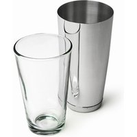 Click to view product details and reviews for Professional Boston Cocktail Shaker Tin Glass Set.