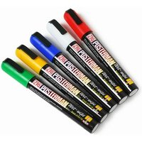 Posterman Liquid Chalk Pens 6mm (Pack of 5 Colours) - Colours Gifts
