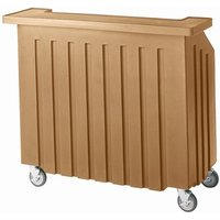 Cambro Portable Bar 540 Coffee Beige - Beige Gifts