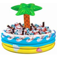Click to view product details and reviews for Tropical Palm Tree Inflatable Cooler.