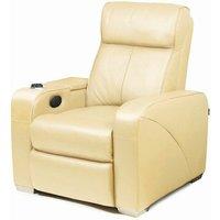 Premiere Home Cinema Chair Cream (Single Seat Chair) - Home Cinema Gifts