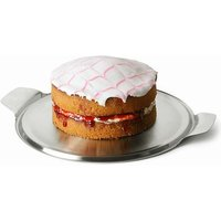 Stainless Steel Cake Plate (Single)