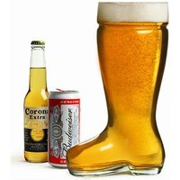 Giant Glass Beer Boot 3.5 Pint / 2ltr (Case of 6)