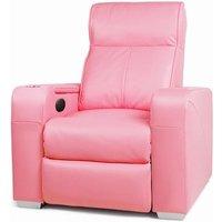 Premiere Home Cinema Chair Pink (Single Seat Chair) - Home Cinema Gifts
