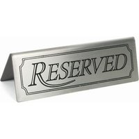 Reserved Sign (Set of 5)
