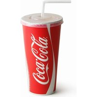 Coca Cola Paper Cups Set 22oz / 630ml (Set of 50) - Coca Cola Gifts