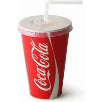 Coca Cola Paper Cups Set 12oz / 340ml (Case of 2000) - Coca Cola Gifts