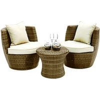 ES Boston Stacking Patio Chair Set