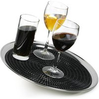 Click to view product details and reviews for Anti Skid Tray Mat To Fit 14inch Waiters Tray Single.