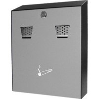 Powder-Coated Wall-Mounted Cigarette Bin - Cigarette Gifts