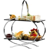 Stainless Steel Cake Stand & 2 Inserts (Single) - Cake Gifts