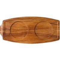 Utopia Acacia Wood Presentation Board 13.5 x 6.25inch / 34 x 15.5cm (Single)
