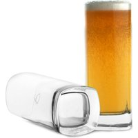 Strauss Square Base Beer Glasses 13.4oz / 380ml (Case of 24)