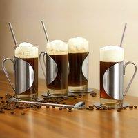 Irish Coffee Glass Complete Gift Set 4x 8.8oz / 250ml - Irish Gifts