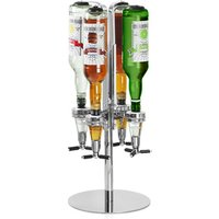Click to view product details and reviews for Rotary 4 Bottle Stand.