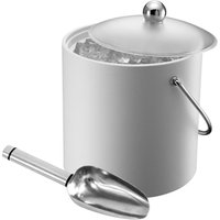 Elia Insulated Ice Bucket with Scoop White 3ltr (Single)