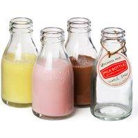 Traditional School Milk Bottle 7oz / 200ml (Set of 4) - School Gifts