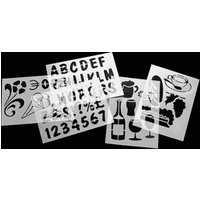 Securit Chalk Board Stencils (Pack of 5)