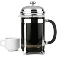 Chrome Cafetiere 12 Cup (Pack of 6)