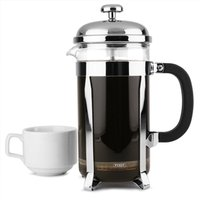 Chrome Cafetiere 8 Cup (Pack of 6)