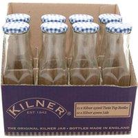 Kilner Hexagonal Twist Top Bottle 250ml (Case of 12)