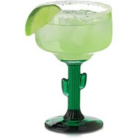 Click to view product details and reviews for Cactus Margarita Glasses 125oz 355ml Set Of 4.