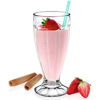 Milkshake Soda Glass 12oz / 340ml (Pack of 6)
