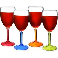 Flamefield Acrylic Party Wine Glasses 10oz / 290ml (Case of 48)