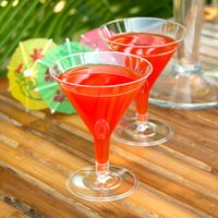 Disposable Martini Glasses Clear 5.3oz / 150ml (Case of 192)