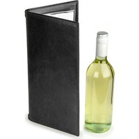 Douglas Wine Menu Cover Black 12x6inch (Set of 12)