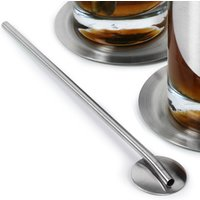 Spoon Straws Stainless Steel (Pack of 24)