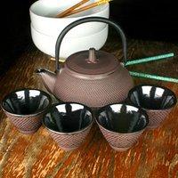 Japanese Cast Iron Tea Set - Japanese Gifts
