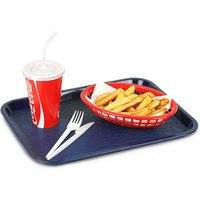 Fast Food Tray Small Blue 10 x 14inch (Single)