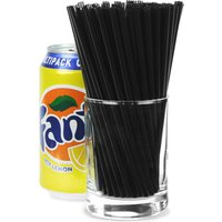 Memphis Straws 5.5inch Black (20 Boxes of 1000)
