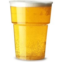 'Katerglass Plastic Pint Tumblers 22oz Lce At 20oz (pack Of 25)