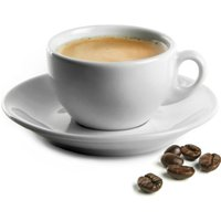 Royal Genware Italian Espresso Cups & Saucers 3oz / 90ml (Pack of 6) - Italian Gifts