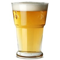 La Rochère Bee Beer Glasses 14oz / 400ml (Pack of 6) - Bee Gifts