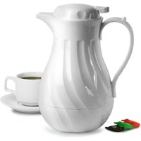 Connoisserve Coffee Pot White 40oz / 1.2ltr (Single)