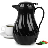 Click to view product details and reviews for Connoisserve Coffee Pot Black 40oz 12ltr Single.