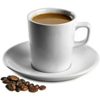 Royal Genware Conical Coffee Mugs & Saucers 7.75oz / 220ml (Pack of 6)