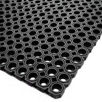 Rubber Matting Black 1 x 1.5m (Case of 4)