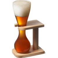 Glass Quarter Yard of Ale with Stand (Case of 12) - Ale Gifts